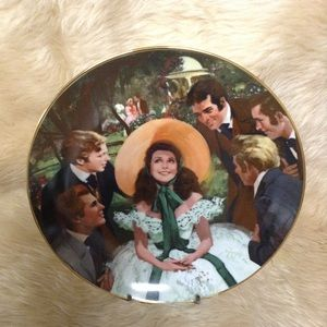Gone With the Wind Golden Anniversary plate